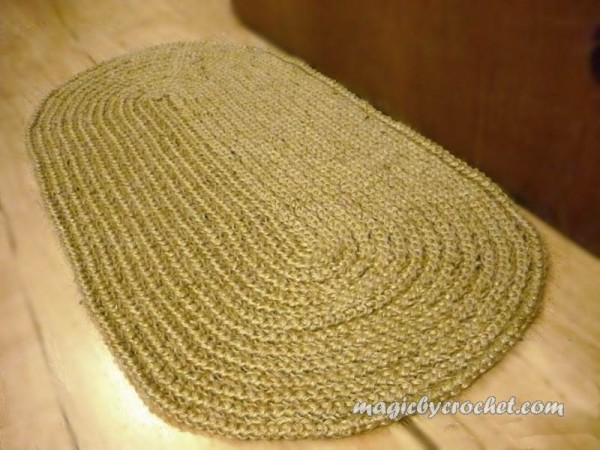DoorMat - Welcome Rug, Jute door Mat, Welcome Mat, no.002