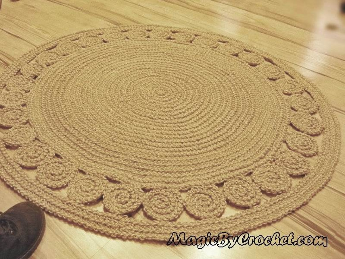 nautical decor, natural rug, jute rug, accent rug, round rug, 40