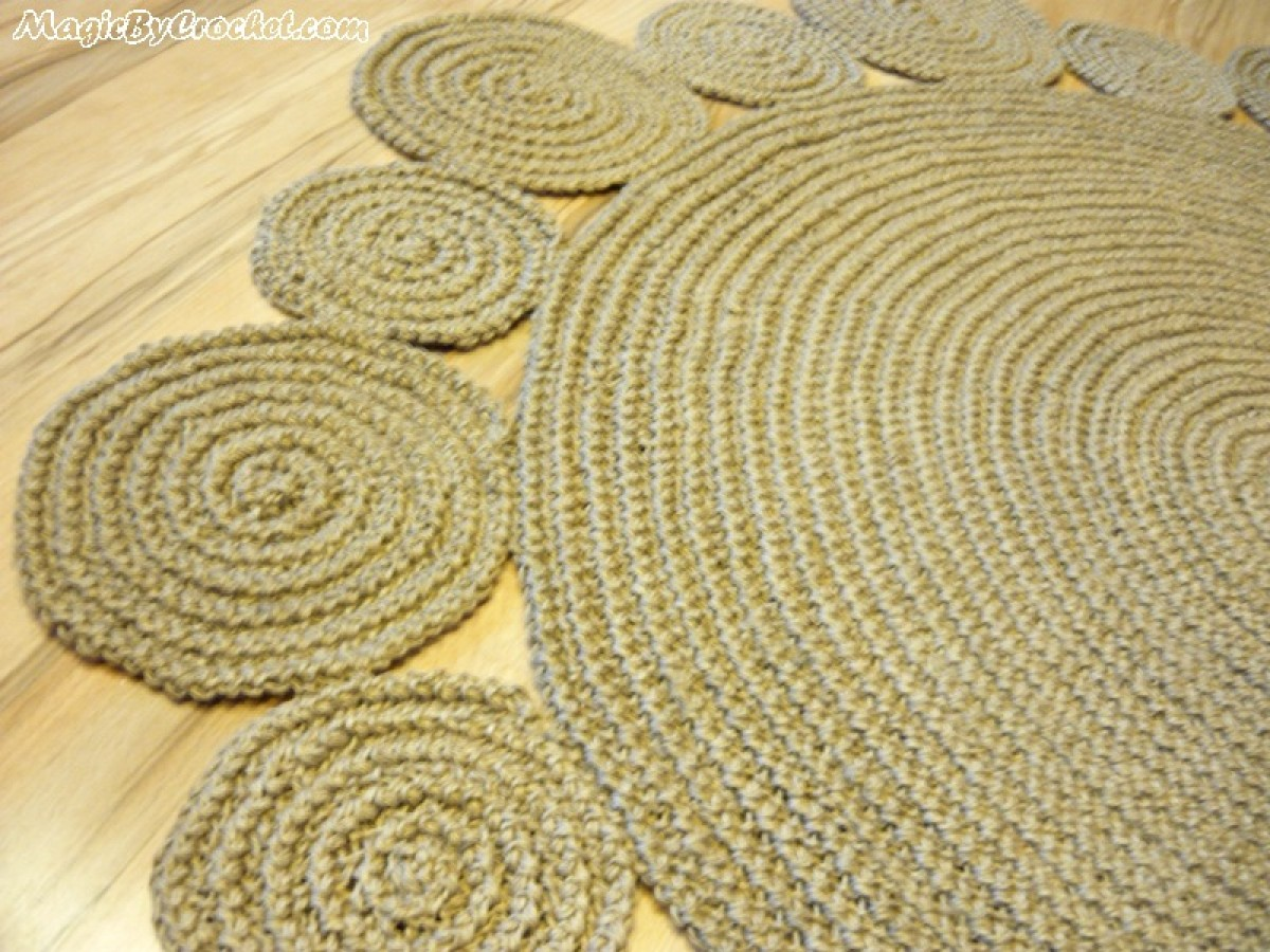 5 Foot Round Jute Rug Uniquely Modern Rugs