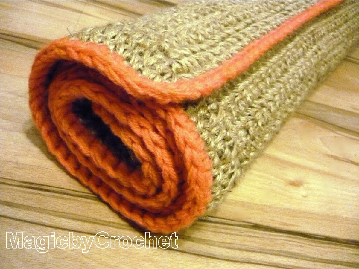 Rustic Jute Rug, 5ft (150cm), Rectangular  Jute Carpet Handmade, Throw Rug, no.025