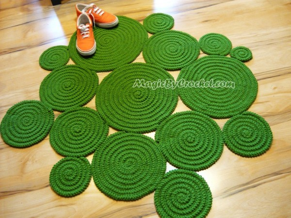Super Soft Rug, Accent Rug, Freeform Rug, Hand Crochet Rug, Custom color Rug, Custom shape Rug, no.056