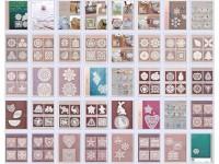 Lacework doily, PDF crochet pattern, Japanese eBook, No.022