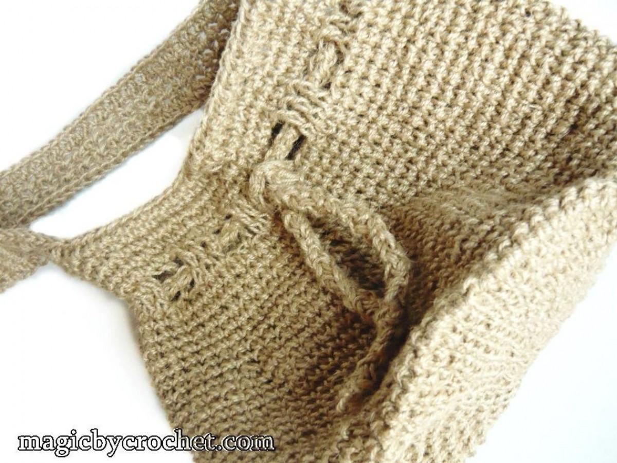 Hobo Bag , Eco Bag, Big Bag, Jute Crochet Bag , Shopping Bag , Books Bag