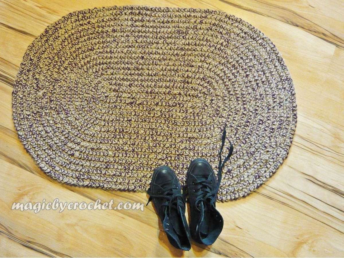 Oval Braided Rug Braided Doormat 2x3 Ft Rug Colors