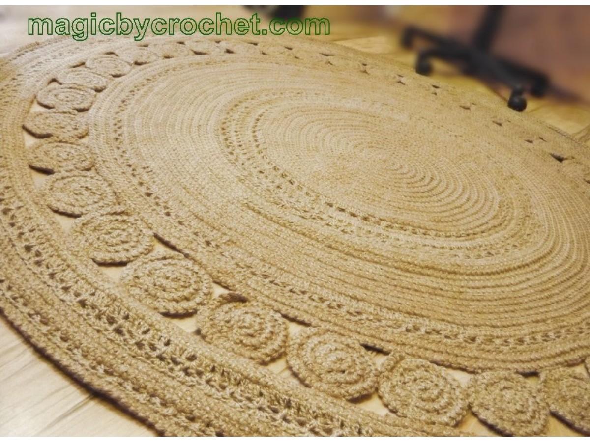 Amazing Jute Rug, Living Rug 7 foot, Luxury, Large rug, Handmade Area Rug, , Deluxe Rug, no.055