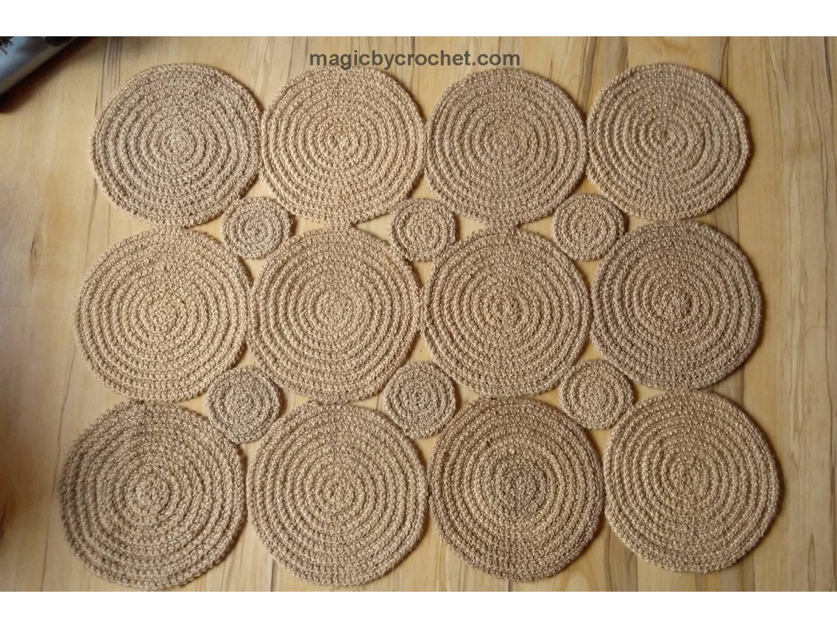 Braided Rug / Jute Rug / Rustic Rug / Area Rug / Retro style rug/ Rectangular, no.112