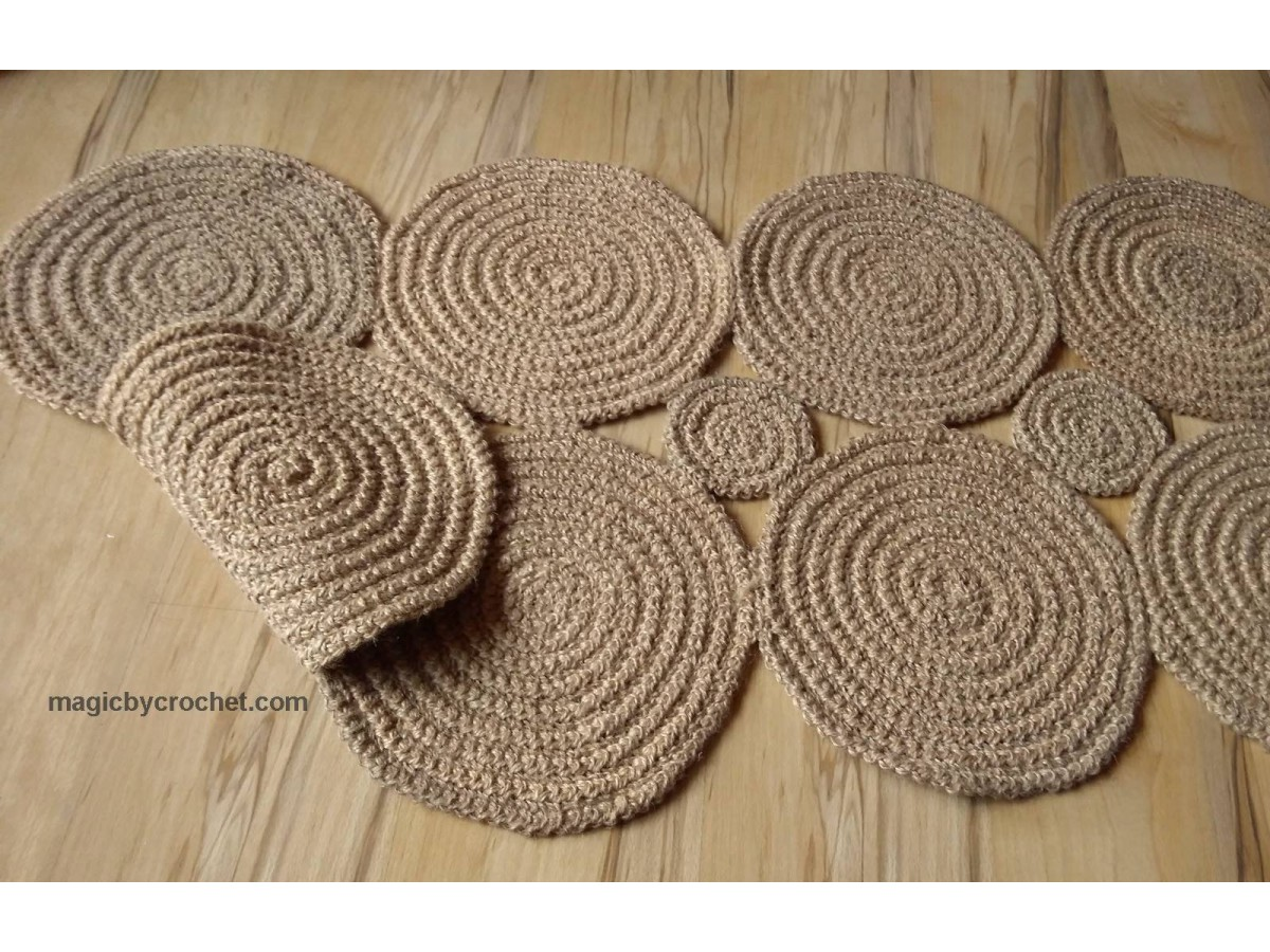 Hallway Rug, Braided Rug, Jute rug, Runner rug, Natural Rug, Nautical decor, Eco Rug, no.114