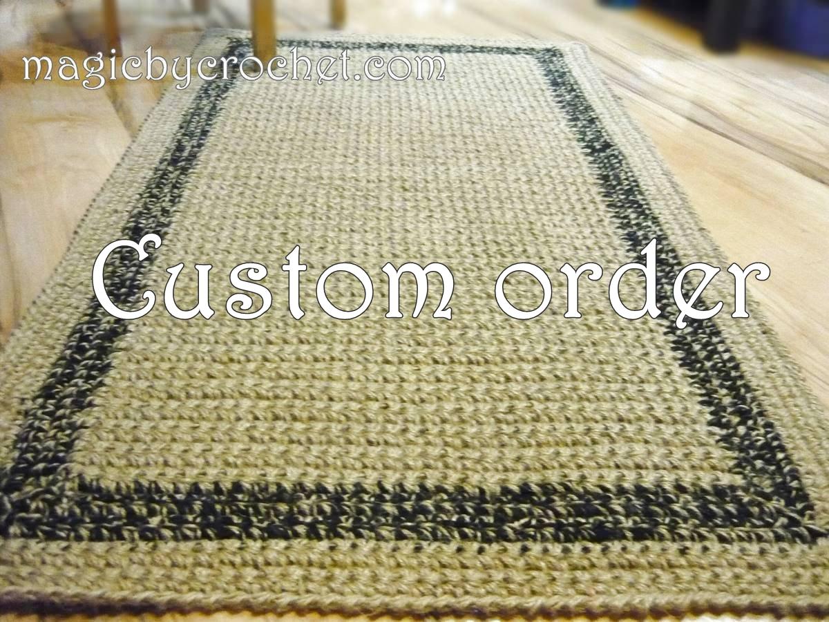 Custom order for E