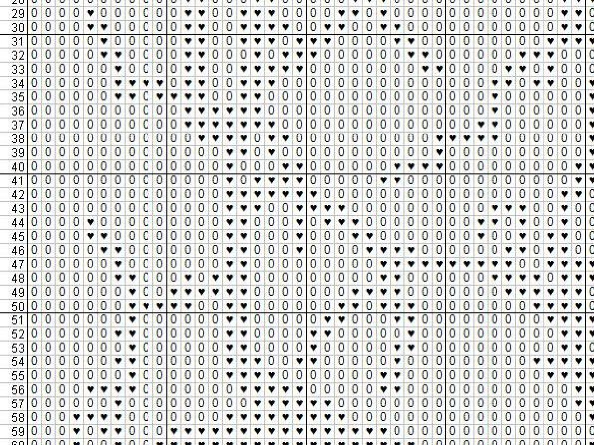Tree of Life PDF pattern, Counted cross stitch, No.096