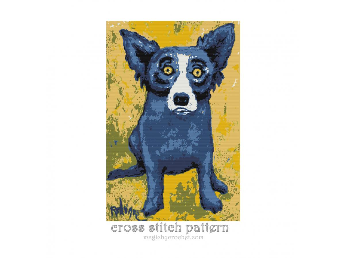 Cross stitch Art , Cross Stitch Pattern, PDF counted chart, Famous Paintings - No. 300
